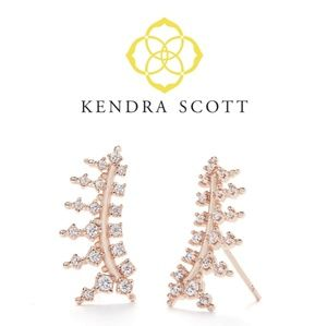 ■Kendra Scott■  Laurie Rose Gold Ear Climbers